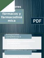 Receptores Para Fármacos y Farmacodinámica