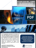 Legislación en Seguridad Minera Minsur Pisco