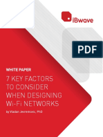 7 Key Factors to Consider When Designing Wi Fi Networks