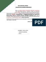 8 Declaracion de Bienes Dinerarios y No Dinerarios