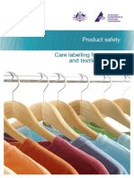Australian  Care Labelling for Clothing and Textile Products