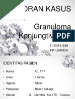 PPT Case Granuloma Konjungtiva