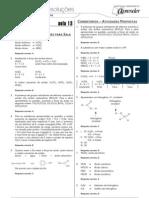 Química - Caderno de Resoluções - Apostila Volume 3 - Pré-Universitário - quim1 aula13