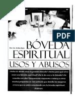 Boveda Espiritual Uso y Abusos