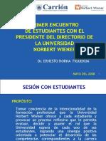 PRESIDENCIA-DEL-DIRECTORIO-I-ENCUENTRO-CON-ALUMNOS.ppt