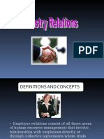 Factors Influencing Employee Relations