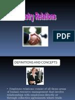 Factors Influencing Employee Relations