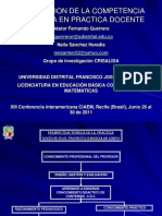 Competencia cognitiva XIII Conferencia CIAEM.ppt