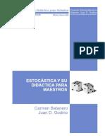 Estocastica y Su Didactica Para Maestros