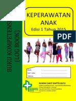 KPS.13 Buku Kompetensi Log Book Keperawatan