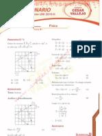Examen Uni de Fisica Quimica 2010-2- Por  La Academia Cesar  vallejo