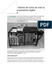 Se Creó La Primera Computadora Digital Electrónica