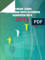 Juknis Penyusunan Profil 2014 Untuk Puskesmas