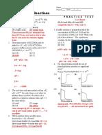 Chemistry Practice Test