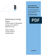 Rethinking Our Energy Future A White Paper on Renewable Energy for the 3GFLAC