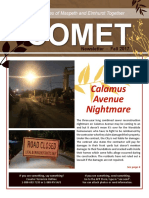 Comet Fall 2017 Newsletter