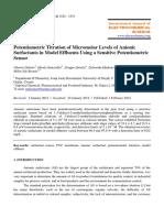 Potentiometry Journal