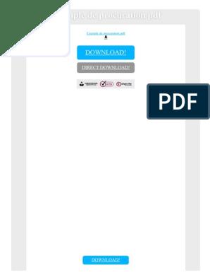 Exemple De Procuration Pdf Portable Document Format