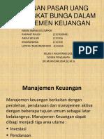 Peranan Pasar Uang Dantingkat Bunga Dalam Manajemen Keuangan
