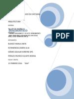 Diagnostico Taller de Diseño IV