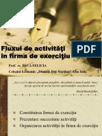 fluxul de activitati in firma de exercitiu.ppt