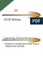Igcse Nutrition Ppt
