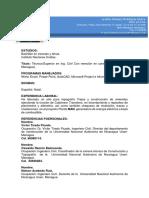 Curriculum Osmany