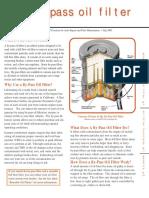 Bypass Oil Filters Fact Sheet