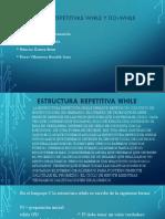 Estructuras Repetitivas While y Do-while