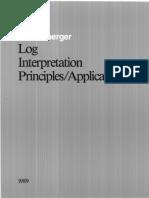Schlumberger - Log Interpretation Principles Applications