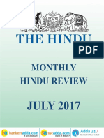 The Hindu Review July 2017