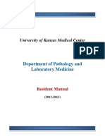 Kumc Pathology Residents Manual