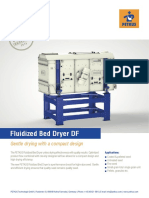 Fluidbed dryer for seeds