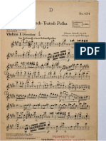 Tritsch-tratsch Polka - Parts