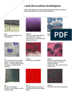 Kimono - Fabrics and Decoration Techniques