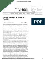 ARTICOLO - Ge cede le turbine di Al...nsaldo - Il Sole 24 ORE.pdf