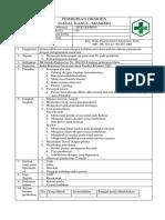 Sop Pemberian Oksigen (Nasal Kanul, Nasal Kateter, Masker