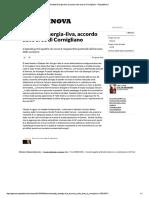 Ansaldo Energia Article -Ilva, Accordo Sulle Aree Di Cornigliano - Repubblica.it