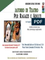 Laboratorio Di Teatro 2017 - 2018