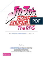 JoJos Bizarre Adventure - The RPG