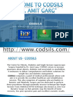 Welcome To Codsils - Dr. Amit Garg