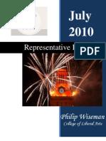 Representative Report (July 2010)