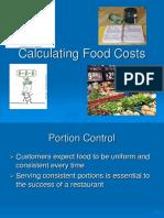 Calculating Food Cost