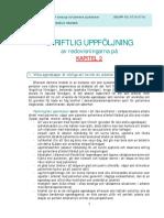 KURSDEL 2_Uppgift-Skriftlig Uppföljning Av Redovisningarna På Kap.2
