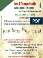 Laboratorio Teatro Bambini Terricciola 2017-2018