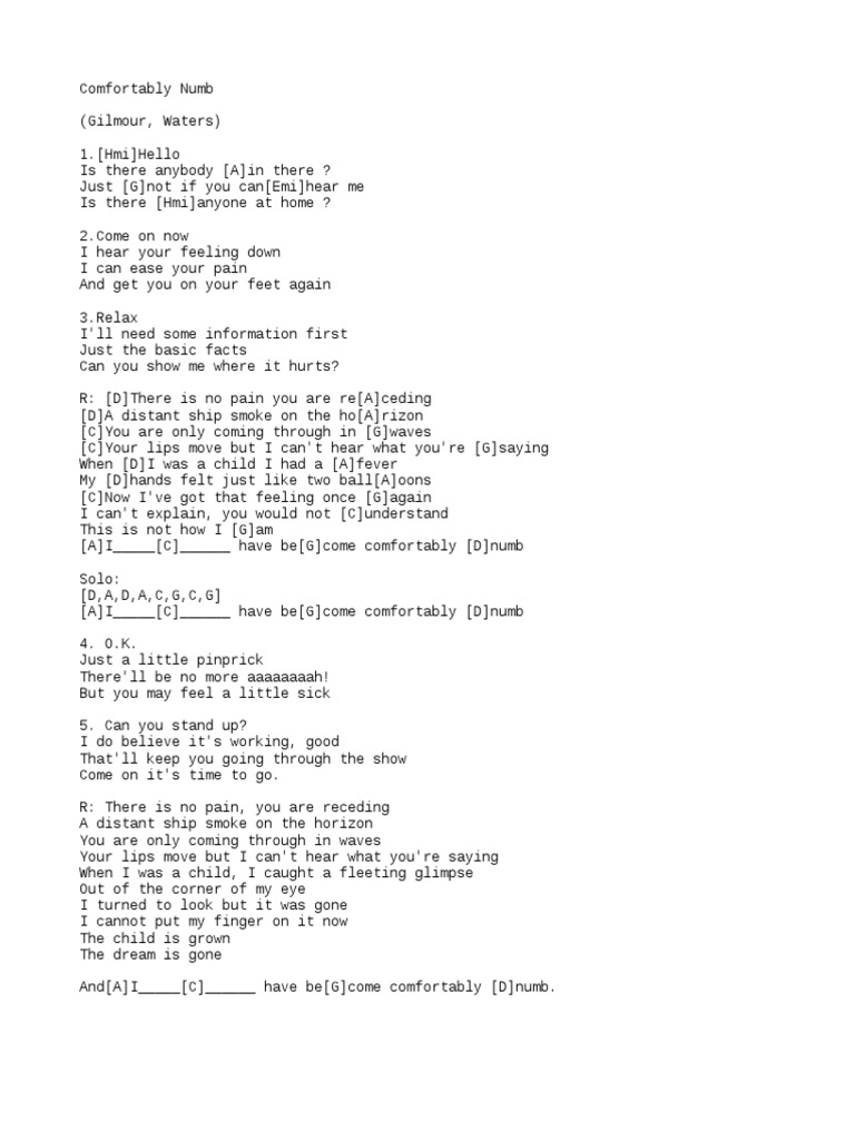 Dorable Numb Chords Motif Song Chords Images Apa Montrealfo