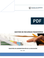 Gestion de Recursos Financieros