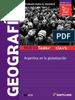 Geografia Arg en La Glob - Nvo Saberes Clave Docente