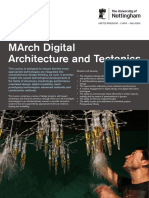 March Digital Arch Tectonics
