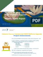 MDM Platform Upgrade Status -09!12!2017